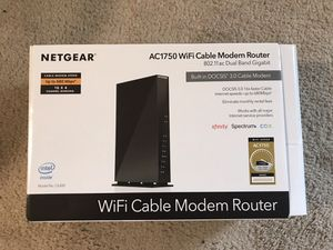 Netgear modem-router combo for Sale in San Diego, CA