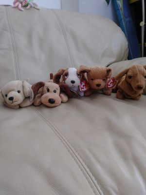 Beanie Babies Its A Dogs World 1990s Rare for Sale in Coronado, CA