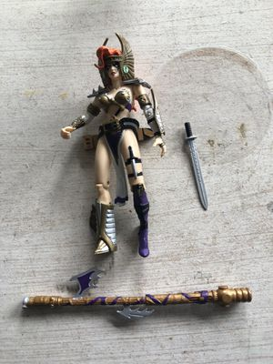 Vintage McFarlane Toys 1995 Spawn Angela Deluxe Edition Ultra-Action Figure for Sale in Houston, TX