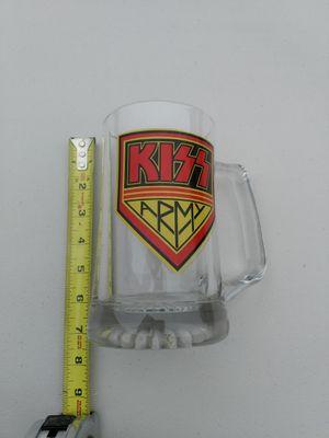 Kiss Army Glass Mug collectible for Sale in Manassas, VA