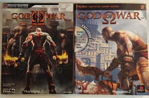 GOD OF WAR 1 & 2 STRATEGY GUIDES ($2 EACH OR BOTH FOR $3) ***SEE OTHER POSTS*** for Sale in El Cajon, CA