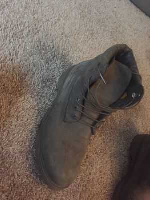 Grey suede timberland boots for Sale in Silver Spring, MD