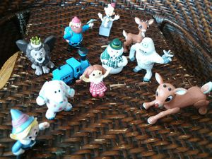 Ruldoph's Land of Misfit Toys Pvc Set (12) for Sale in Chicago, IL
