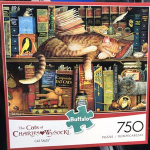 """NEW!!! 750 Piece Puzzle CATS OF CHARLES WYSOCKI """"CAT TALES"""" for Sale in Torrance, CA"""