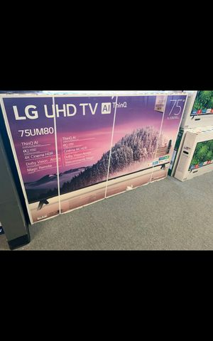75 led LG smart 4k hdtv like new in box comes with 6 month warranty Ask us about our different $$$$$$$ options for Sale in Phoenix, AZ
