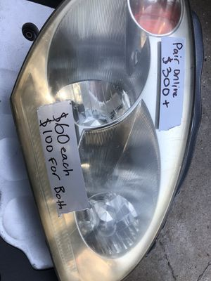 Infiniti G35 Coupe Headlights Pair for Sale in Marina, CA