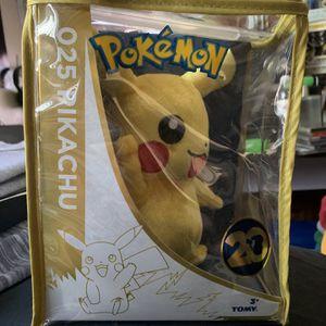 Pokémon Pikachu 20th Anniversary Plushie for Sale in Santa Ana, CA