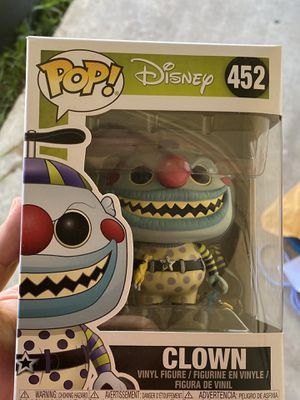 Funko Pop Nightmare Before Christmas Clown for Sale in Cedar Hill, TX