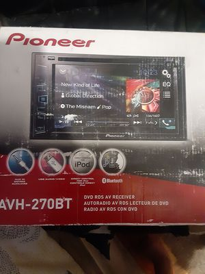 Pioneer 6.2 inch touch screen deck for Sale in Gilbert, AZ
