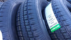 st225 75 15 trailers tires 4 new $220 for Sale in Orange, CA