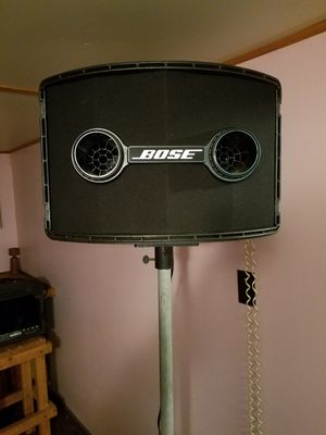 PA SYSTEM: BOSE SPEAKERS/ MACKIE MIXER for Sale in Buffalo, NY