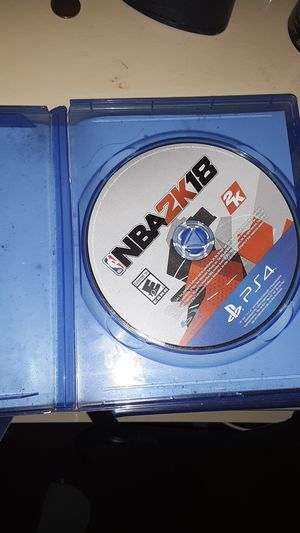 NBA 2k18 ps4 for Sale in Baltimore, MD