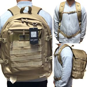 Brand NEW! Large Tan Khaki tactical military style Backpack molle system hiking gym work camping travel bag for Sale in Carson, CA