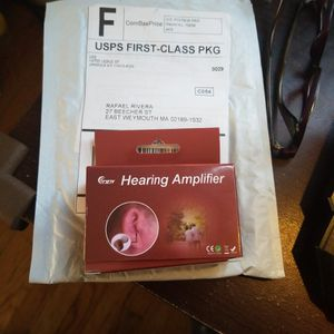 Brand New Nano Hearing Amplifier for Sale in Weymouth, MA