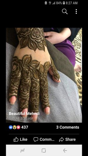 Henna cone design for Sale in Redondo Beach, CA