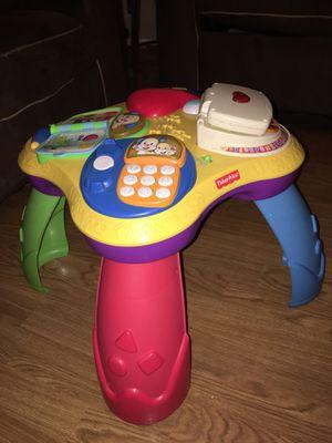 Free baby activity table READ DESCRIPTION for Sale in Avondale, AZ