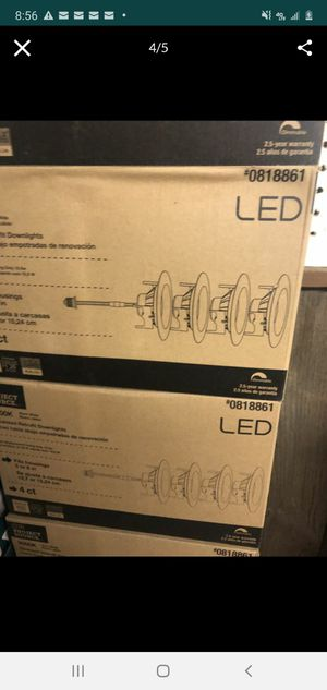 Set of 6 LED (4 count per box 24 total ) Project Source for Sale in New Haven, IN