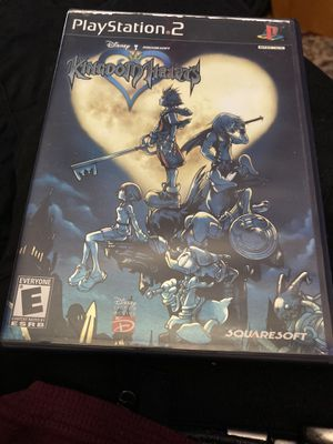 Kingdom hearts original copy ps2 for Sale in San Antonio, TX