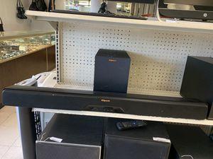 Klipsch BT Soundbar and Sub for Sale in Austin, TX