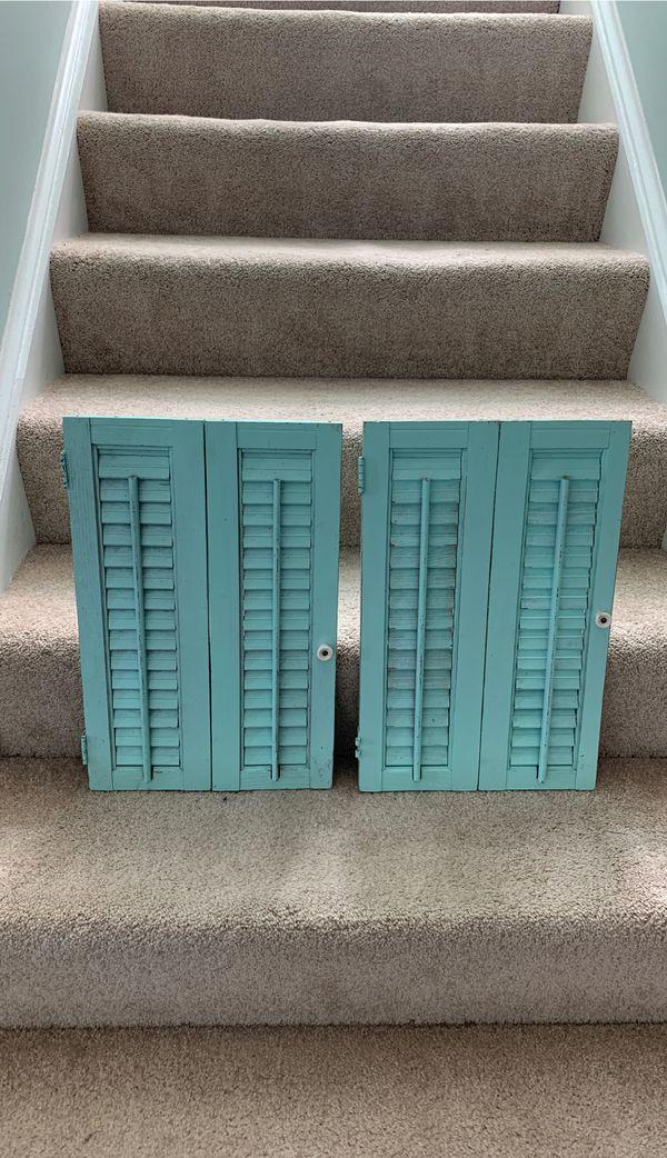 Decorative shutters
