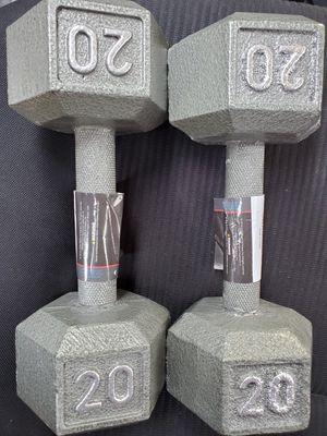 Dumbbells 20pdd for Sale in Fresno, CA