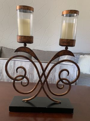 Candelabra -bronze for Sale in Baltimore, MD