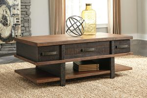 Ashley Furniture Two-tone Lift Top Cocktail Coffee Table for Sale in Santa Ana, CA