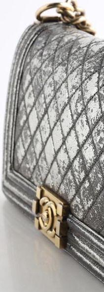 CHANEL FLAP BOY CRACKLED METALLIC QUILTED LEATHER SHOULDER BAG for Sale in Las Vegas, NV