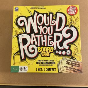 WOULD YOU RATHER BOARD GAME for Sale in Orting, WA