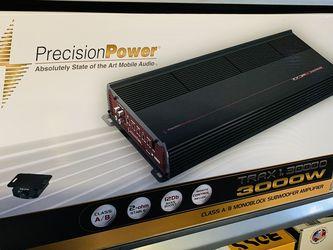 Precision Power 3,000 Monoblock Amplifier for Sale in San Bernardino,  CA