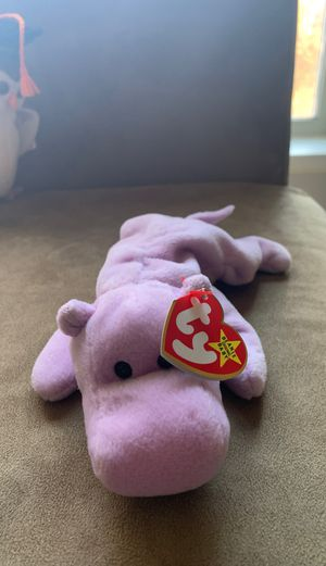 Happy the hippo beanie baby for Sale in Atlanta, GA