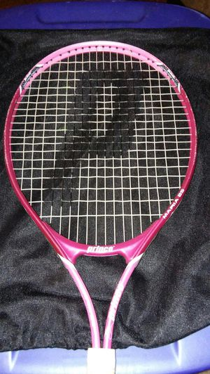 (PRINCE)MARIA SHARAPOVA 25 PINK TENNIS RACKET/RACQUET BAG Oversize for Sale in Charlotte, NC
