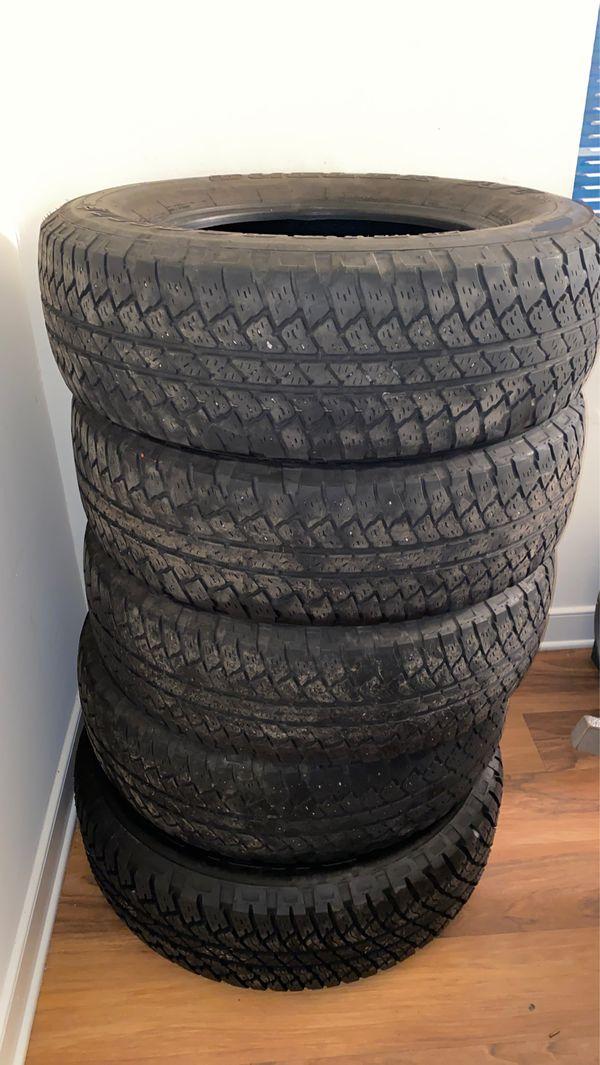 5 P225/70R18 Tires