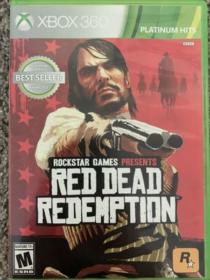 Red Dead Redemption Xbox 360 Backwards Compatible for Sale in Cedar Park, TX