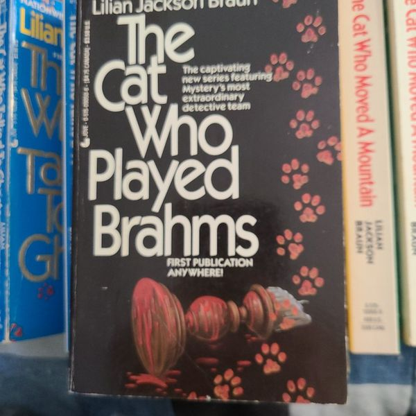 The Cat Who Played Brahms Lillian Jackson Braun, Paperback