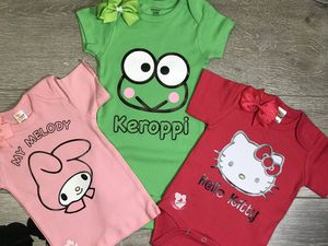 Baby Girl Clothing Natty & Matty Bundle Available Hello Kitty, My Melody, and Keroppi for Sale in Paramount, CA