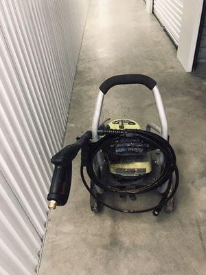 A free Pressure washer with all that you see for Sale in Houston, TX