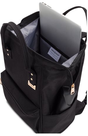 SWISSGEAR 3576 DR BAG WITH GOLD HARDWARE BACKPACK - BLACK . for Sale in Rancho Cucamonga, CA
