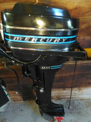 Mercury 9.8 up 110 thunderbolt ignition outboard motor for Sale in Winter Garden, FL