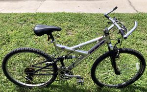 Nice Mongoose MGX full-suspension men's aluminum mountain bike for Sale in Orlando, FL