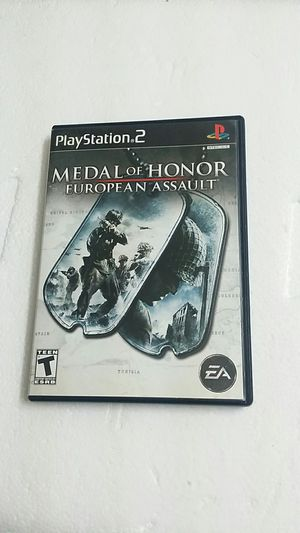Medal of Honor European Assault, PS2 for Sale in El Cajon, CA