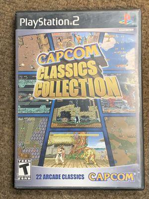 Capcom classics collection PS2 game for Sale in Hesperia, CA