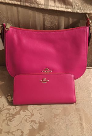 Coach bag and matching wallet for Sale in Bakersfield, CA