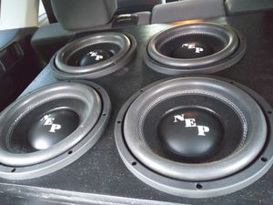 10 inch subwoofers for Sale in Vero Beach, FL