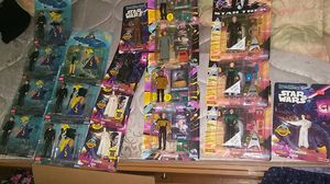 Mixed lot of carded 1990s action figures for Sale in Cleveland, OH