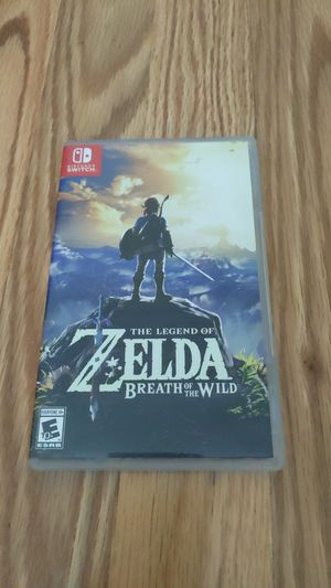 Nintendo Switch: Legend of Zelda Breath of the Wild for Sale in Santa Ana, CA