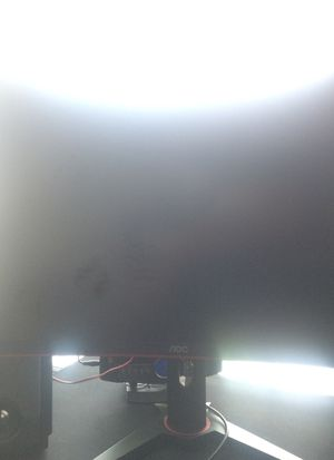 AOC 27 INCH 144HZ OC CURVED IPS PANEL MONITOR for Sale in Saginaw, TX