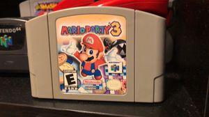 Mario Party 3 (Nintendo 64) for Sale in Lago Vista, TX