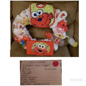 Diaper wreath for Sale in Frostproof, FL