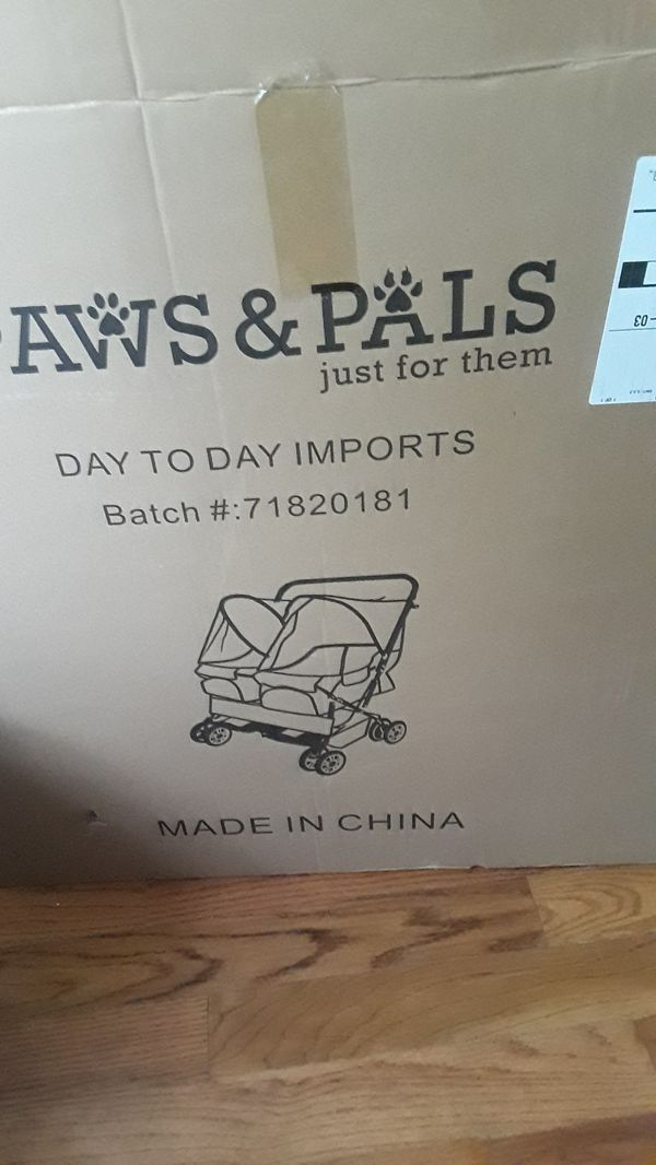 Brand new dog stroller for two dogs NEVER BEEN USED